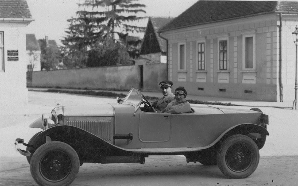 JOSIP PLANINIĆ, jedan od osnivača AMD Slavonac u Citroenu iz 1930.