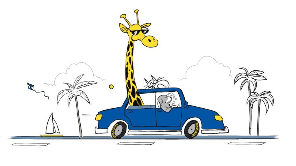 Nikad ne smijete dopustiti da se vasi kucni ljubimci slobodno krecu u automobilu tijekom voznje.