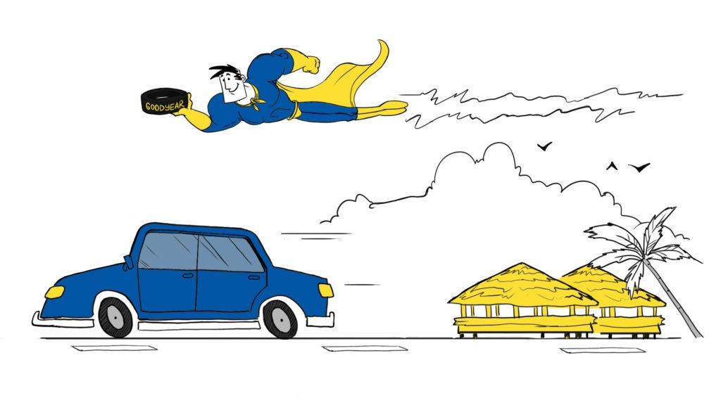 Vodite racuna da vam se za vrijeme voznje moze probusiti guma_ pozovite pomoc na cesti.