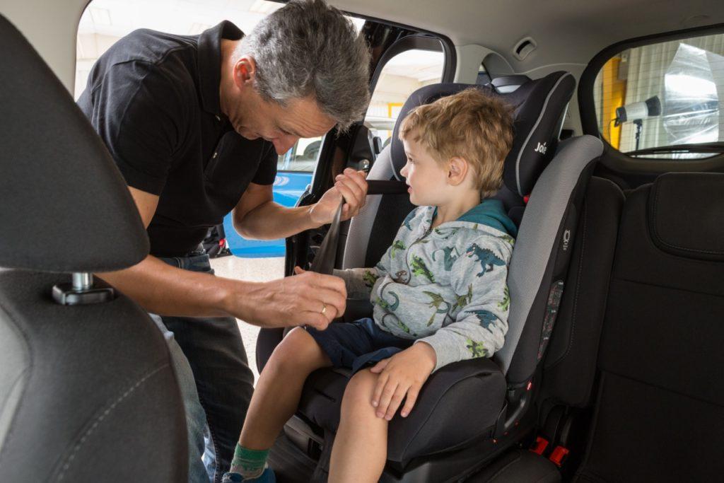 HAK test djecjih autosjedalica 2